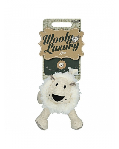 Wooly luxury leeuw wit