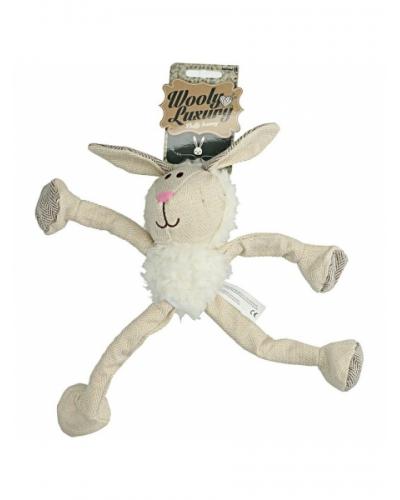 Wooly Luxury fluffy konijngrijs
