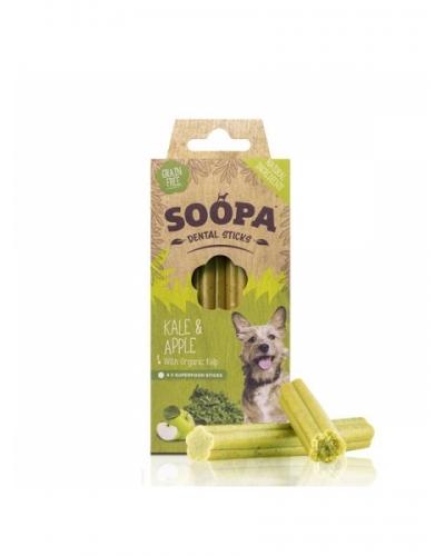Soopa Dental Sticks Kale & Apple 100g