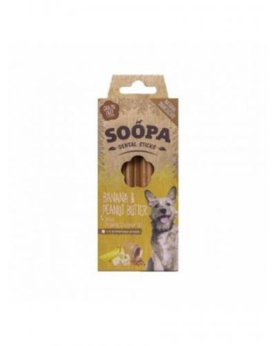 Soopa Dental Sticks Banana & Peanut Butter 100g
