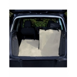 Trixie kofferbak beschermdeken 1.80x1.30 beige/zwart